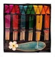 China Rainbow Incense & Lotus Holder on sale
