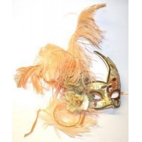 China Feather Masquerade Masks on sale