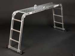China Abru Blue Seal Multi-Purpose 12 Way Combination Ladder and Platform 4x3 on sale