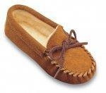 China Minnetonka Moccasin Children's Pile Lined Slipper on sale