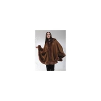 China PURE CASHMERE CAPE WITH FOX FUR TRIMMING from Cashmere Pashmina Group on sale