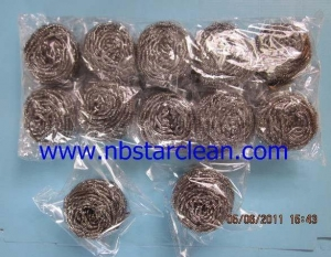 China Stainless Steel Scrubber on sale
