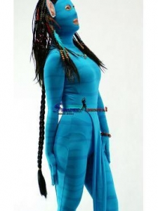 China Avatar Clothing Lycra Women Show Play zentai Costumes on sale