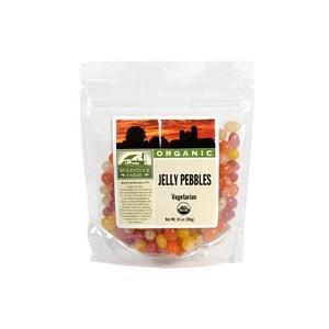 China Organic Jelly Pebbles Vegetarian - 10 OZ. by Woodstock Farms (Jelly Beans) on sale
