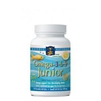 Omega-3.6.9 Junior 90 Soft Gels by Nordic Naturals