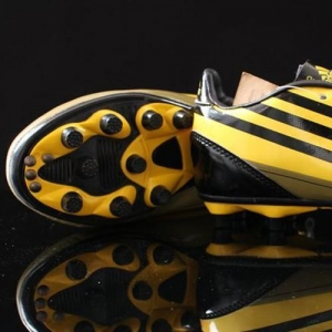 China Adidas F50 AdiZero TRX FG Soccer Cleats,Men's Soccer Cleats In Yellow on sale
