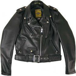 China Schott Ladies Perfecto Lambskin Leather Motorcycle Jacket on sale