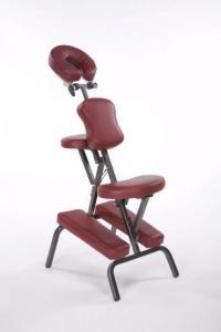 China Sierra Comfort SC-502 Relief Portable Massage Chair - WineItem # [MW-C62T-WINE] on sale