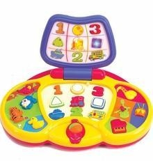 China Preschool Laptop Electronic Activity Toy on sale