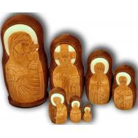 China Russian Orthodox Icons of Virgin Mary - Matrushka Dolls on sale