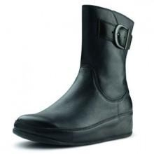 China Fitflop Hooper Boot Leather Black on sale