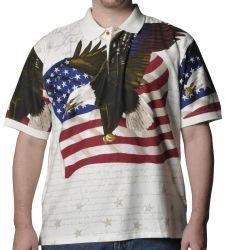 China Congress Eagle Flag Shirt on sale