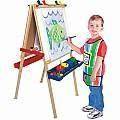 China Deluxe Wooden Standing Art Easel on sale
