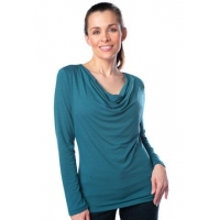 Cowl Neck, Long Sleeve Top