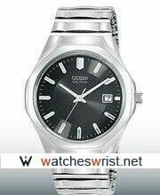 China Citizen Watch Co. Ltd The Flexible Band Collection Silver Strap Steel unsex Swiss Watches on sale