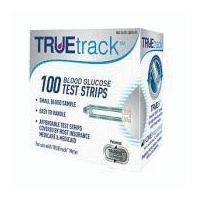 TrueTrack Blood Glucose Test strips 100 ct.