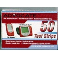 Advocate Glucose Test Strips 50Ct Short Dated Sale
