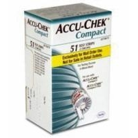 Accu-Chek Compact Glucose Test Strips 51Ct. Nfrs