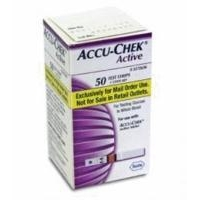 Accu-Chek Active Test Strips Mail Order Box of 50