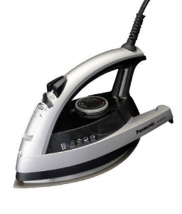 China Panasonic NI-W750TS 360-Degree Quick Multi-Directional Steam Iron, Silver and Black on sale