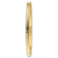 9ct Gold Diamond Cut Slave Bangle[3145/11]