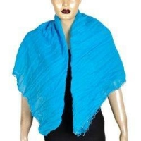 China Neck Scarves Pure Cotton Handmade Accessories India 40 x 40 inches on sale