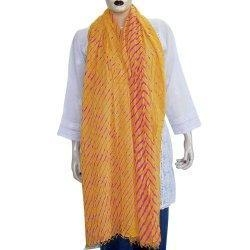 China Fashion Scarves Cotton Traditional Indian Tie and Dye 88 x 40 inches on sale