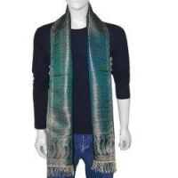 Mens Clothing Neck Scarf Men Accessory Silk Muffler 10x78 inches