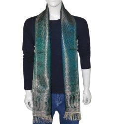 China Mens Clothing Neck Scarf Men Accessory Silk Muffler 10x78 inches on sale