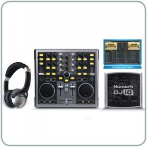 China DJ Mixers & DJ Equipment Numark Total Computer DJ in a Box - Mixer / Software Package on sale