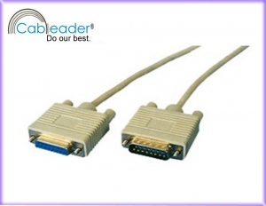 China Cableader Computer Cables Monitor CABLE, DB15M-DB15F on sale