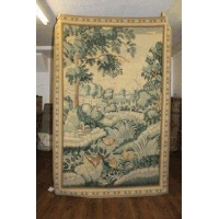 4x7 PICTORIAL WALL HANGING TAPESTRY NEEDLEPOINT 1061
