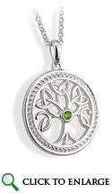 China Silver Tree of Life Pendant on sale
