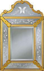 China Pauline Decorative Venetian Wall Mirror, 22.5 x 36 on sale