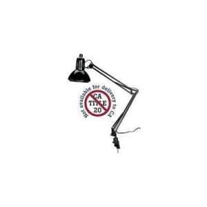 China Alvin G2540-B Swing-Arm Drafting Lamp BLACK on sale