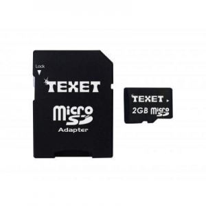 China Texet Micro SD Memory Card 2GB on sale