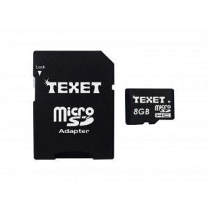 China Texet Micro SD Memory Card 8GB on sale
