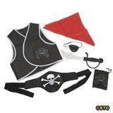 China 6 Piece Child Pirate Costume Accessories Set on sale