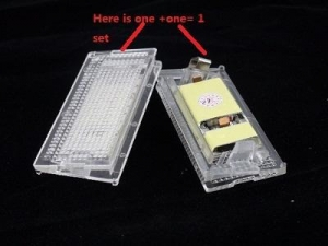 China BMW LED LICENSE PLATE LAMP E46 4D (98-03) on sale