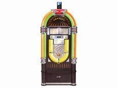 China Crosley Jukebox with 10-CD Changer Radio & iPod Dock on sale