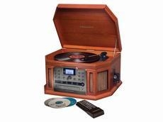 China Crosley CR248 Songwriter Turntable with CD Recorder on sale