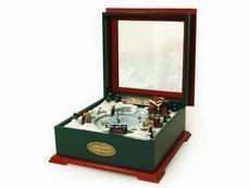 China Crosley Christmas Music Box on sale