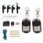 China 2/4 Door Remote Control Central Entry Locking Kit on sale