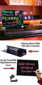 China LED Message Board Signs with Tabletop Mount on sale