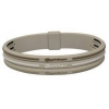 China Phiten Titanium Bracelet S-Type Triple line Tan for sale