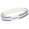 China Phiten Titanium Bracelet S-Type Triple line Blue/White/Blue for sale