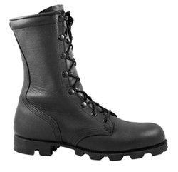 China McRae 6189 All Leather Black Combat Boot on sale