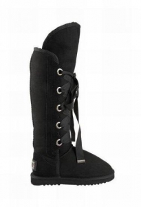 China Australia Luxe Collective Bedouin Tall Lace-Up Boot In Black on sale