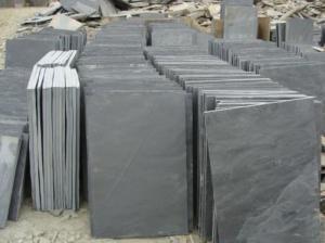 China Natural Stone black slate on sale