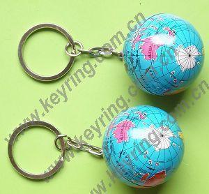 China Globe Earth Ball Keychains, Globe Earth Ball Keyring, Earth Ball Keychains on sale